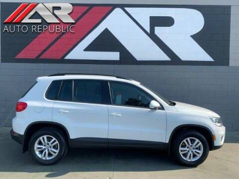 2017 Volkswagen Tiguan for sale at Auto Republic Fullerton in Fullerton CA