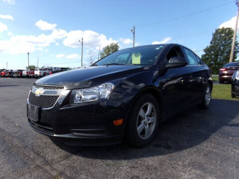2014 Chevrolet Cruze for sale at Pool Auto Sales Inc in Spencerport NY