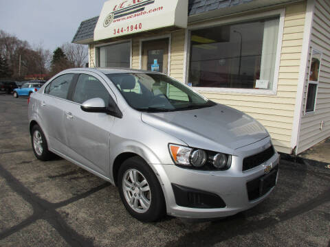 2015 Chevrolet Sonic for sale at U C AUTO in Urbana IL