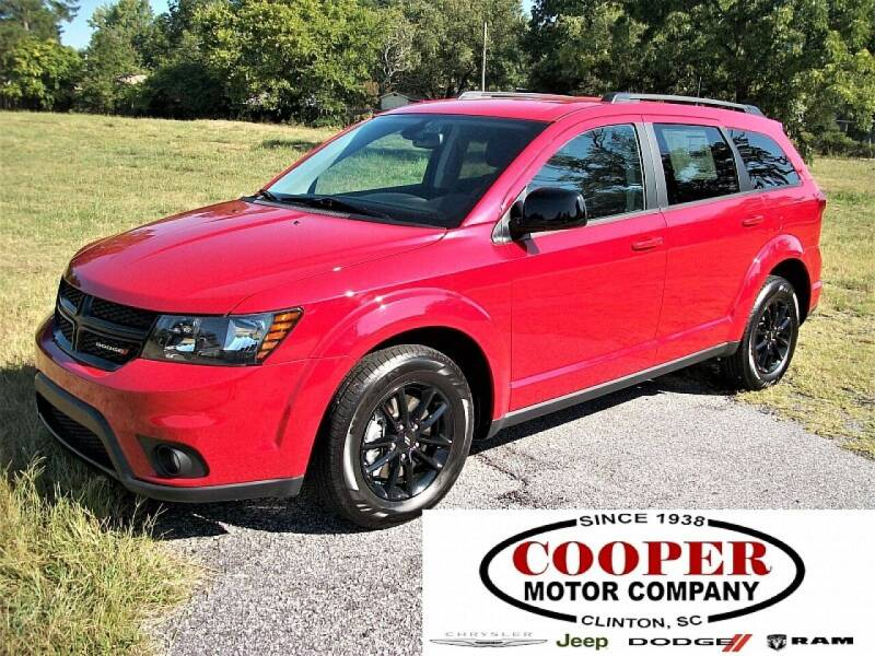 2019 Dodge Journey for sale at Cooper Motor Company in Clinton SC