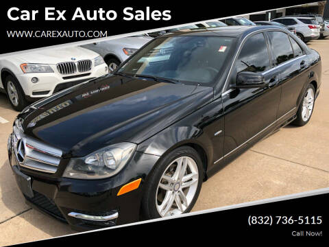 2012 Mercedes-Benz C-Class for sale at Car Ex Auto Sales in Houston TX