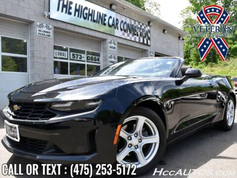 2019 Chevrolet Camaro for sale at The Highline Car Connection in Waterbury CT