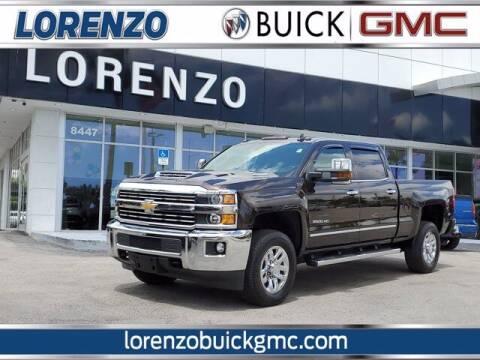2019 Chevrolet Silverado 2500HD for sale at Lorenzo Buick GMC in Miami FL