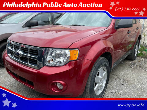 2012 Ford Escape for sale at Philadelphia Public Auto Auction in Philadelphia PA