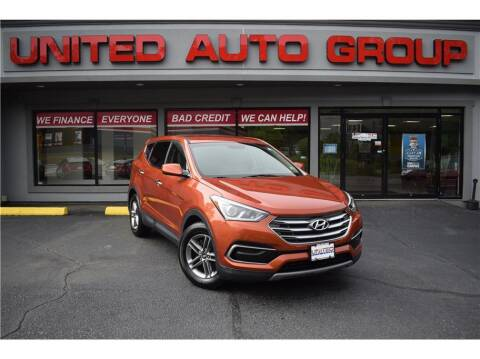 2017 Hyundai Santa Fe Sport for sale at United Auto Group in Putnam CT