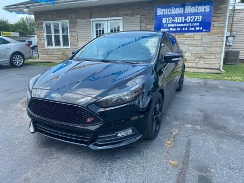 2016 Ford Focus for sale at Brucken Motors in Evansville IN