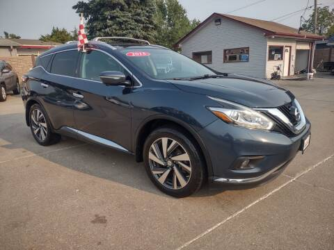 2015 Nissan Murano for sale at Triangle Auto Sales in Omaha NE