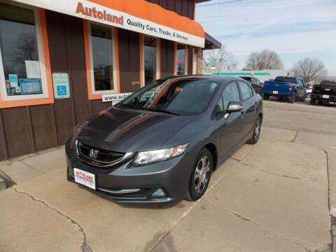 2013 Honda Civic for sale at Autoland in Cedar Rapids IA