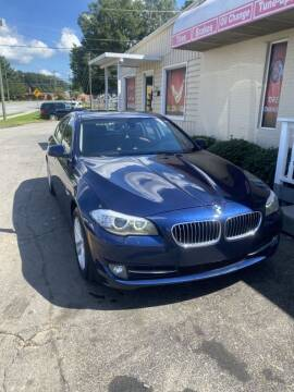 2013 BMW 5 Series for sale at SUN AUTOMOTIVE in Greensboro NC