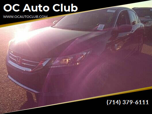 2015 Honda Accord for sale at OC Auto Club in Midway City CA