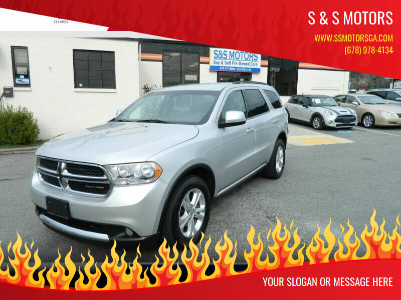 2012 Dodge Durango for sale at S & S Motors in Marietta GA