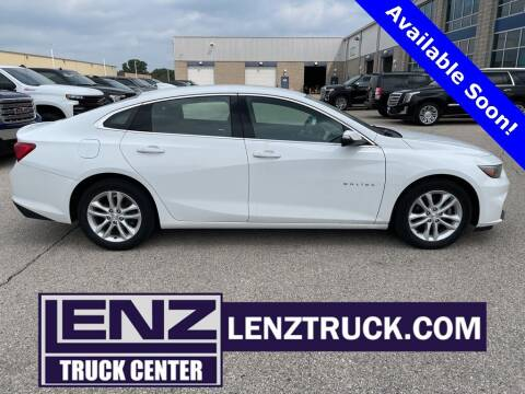 2017 Chevrolet Malibu for sale at LENZ TRUCK CENTER in Fond Du Lac WI