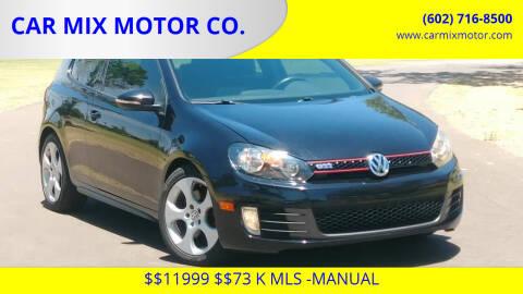 2010 Volkswagen GTI for sale at CAR MIX MOTOR CO. in Phoenix AZ