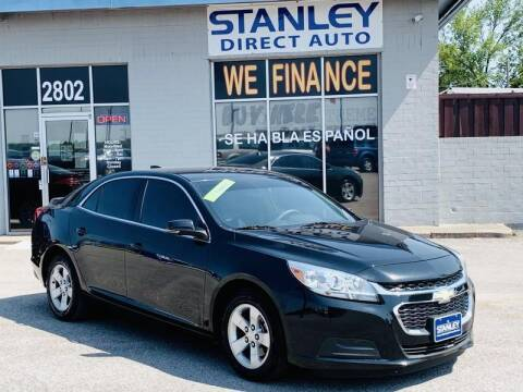 2015 Chevrolet Malibu for sale at Stanley Automotive Finance Enterprise - STANLEY CHRYSLER DODGE JEEP RAM GATESVILLE in Gatesville TX