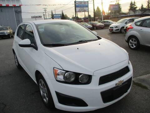 2016 Chevrolet Sonic for sale at GMA Of Everett in Everett WA