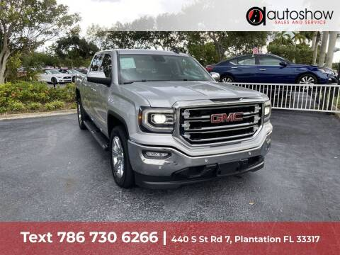 2018 GMC Sierra 1500 for sale at AUTOSHOW SALES & SERVICE in Plantation FL