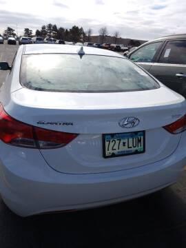2012 Hyundai Elantra for sale at WB Auto Sales LLC in Barnum MN