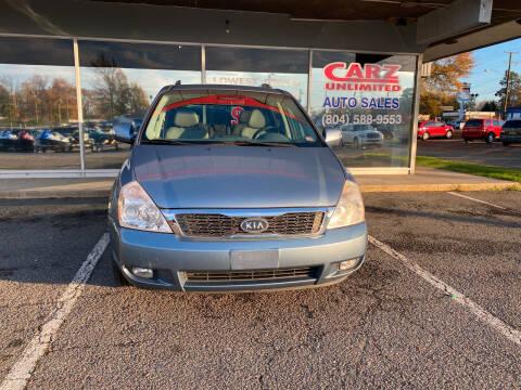 2012 Kia Sedona for sale at Carz Unlimited in Richmond VA