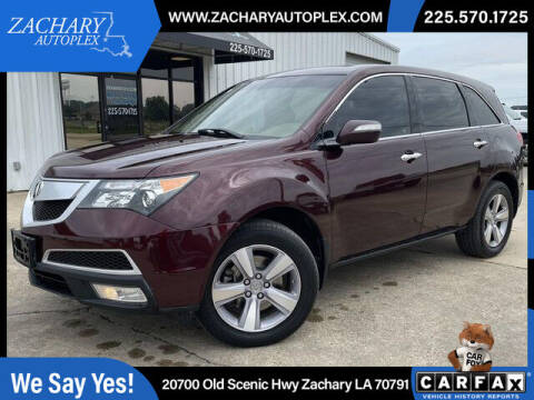 2013 Acura MDX for sale at Auto Group South in Natchez MS