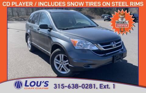 2011 Honda CR-V for sale at LOU'S CAR CARE CENTER in Baldwinsville NY