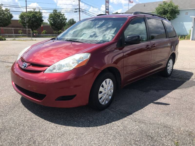 2010 Toyota Sienna for sale at D'Ambroise Auto Sales in Lowell MA
