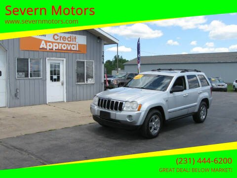 2007 Jeep Grand Cherokee for sale at Severn Motors in Cadillac MI