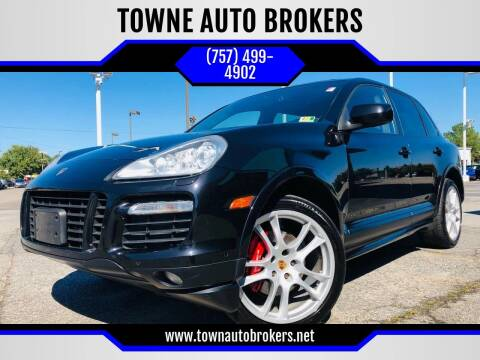 2009 Porsche Cayenne for sale at TOWNE AUTO BROKERS in Virginia Beach VA