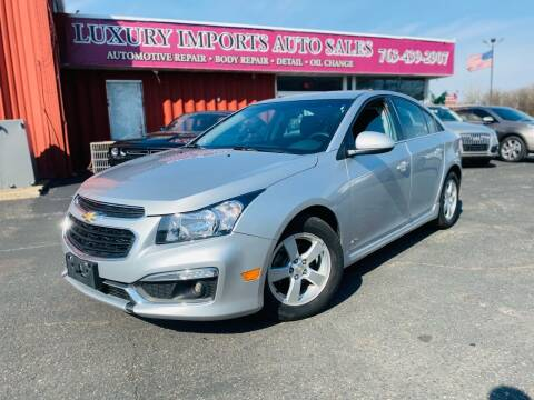 2016 Chevrolet Cruze Limited for sale at LUXURY IMPORTS AUTO SALES INC in North Branch MN
