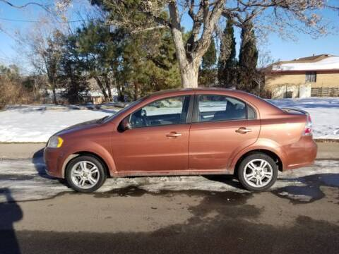 2011 Chevrolet Aveo for sale at Auto Brokers in Sheridan CO