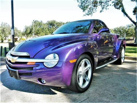 2004 Chevrolet SSR for sale at AUTO LIQUIDATORS OF TEXAS in Richmond TX