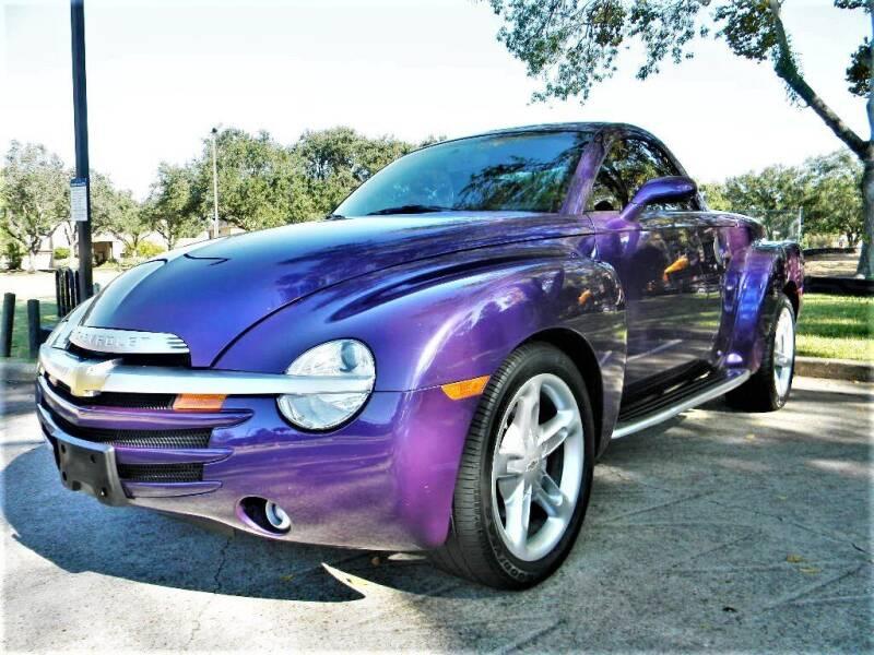 2004 Chevrolet SSR for sale at AUTO LIQUIDATORS OF TEXAS in Richmond TX