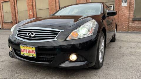 2013 Infiniti G37 Sedan for sale at Rocky's Auto Sales in Worcester MA