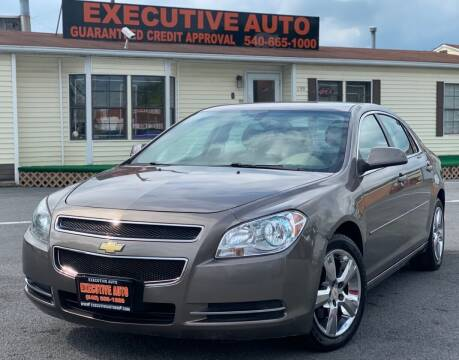 2011 Chevrolet Malibu for sale at Executive Auto in Winchester VA