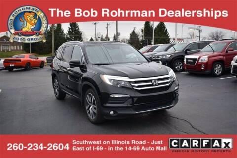 2017 Honda Pilot for sale at BOB ROHRMAN FORT WAYNE TOYOTA in Fort Wayne IN