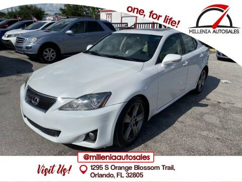 2013 Lexus IS 250 for sale at Millenia Auto Sales in Orlando FL
