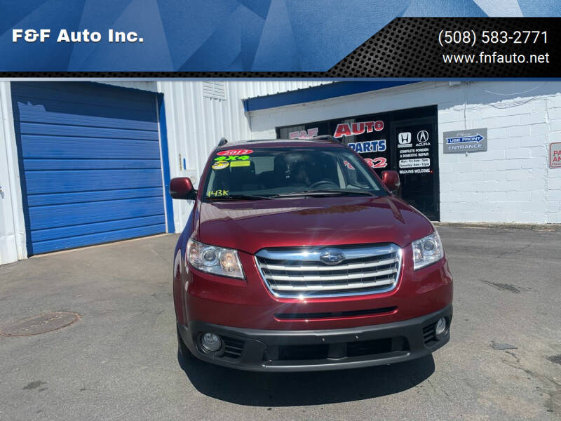 2012 Subaru Tribeca for sale at F&F Auto Inc. in West Bridgewater MA