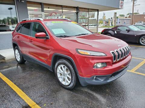 2017 Jeep Cherokee for sale at Stach Auto in Janesville WI