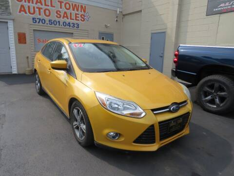 2012 Ford Focus for sale at Small Town Auto Sales in Hazleton PA