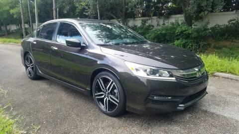 2017 Honda Accord for sale at DELRAY AUTO MALL in Delray Beach FL