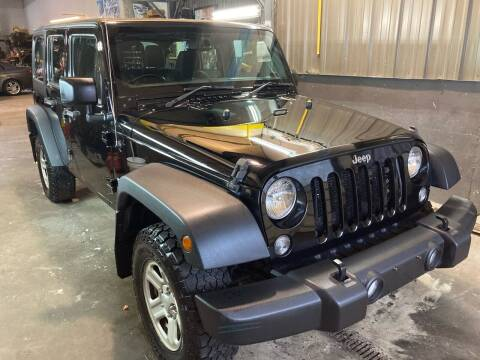 2016 Jeep Wrangler Unlimited for sale at 222 Newbury Motors in Peabody MA