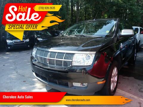 2009 Lincoln MKX for sale at Cherokee Auto Sales in Acworth GA