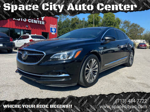 2017 Buick LaCrosse for sale at Space City Auto Center in Houston TX