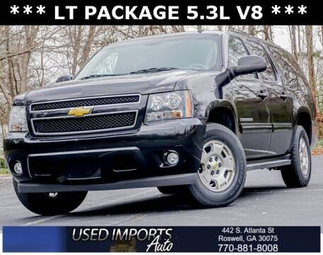 2012 Chevrolet Suburban for sale at Used Imports Auto in Roswell GA