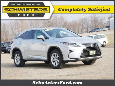 2017 Lexus RX 350 for sale at Schwieters Ford of Montevideo in Montevideo MN