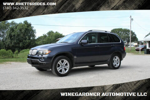2005 BMW X5 for sale at WINEGARDNER AUTOMOTIVE LLC in New Lexington OH