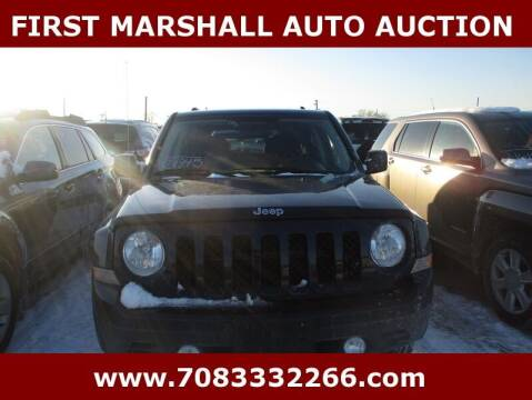 2013 Jeep Patriot for sale at First Marshall Auto Auction in Harvey IL