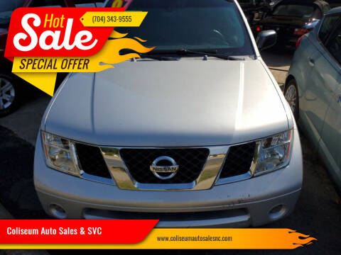 2007 Nissan Pathfinder for sale at Coliseum Auto Sales & SVC in Charlotte NC