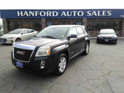 2013 GMC Terrain for sale at Hanford Auto Sales in Hanford CA