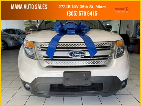 2014 Ford Explorer for sale at MANA AUTO SALES in Miami FL