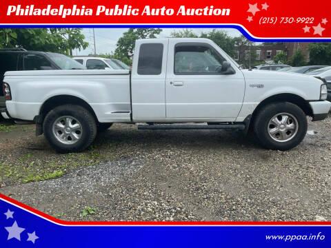 2000 Ford Ranger for sale at Philadelphia Public Auto Auction in Philadelphia PA